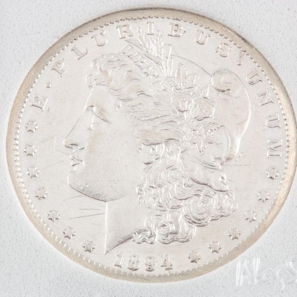 1894-S Silver Morgan Dollar