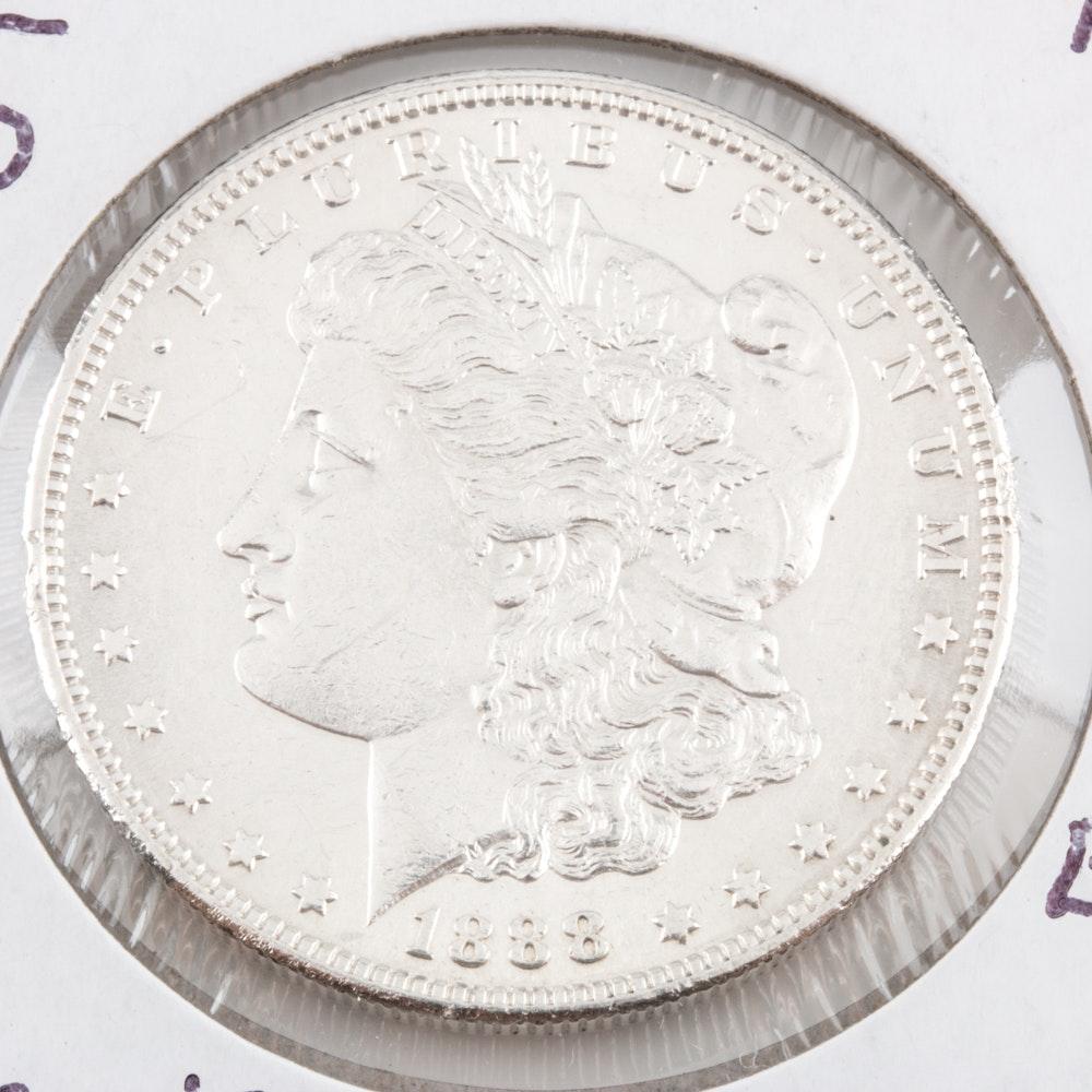 1888-S Silver Morgan Dollar