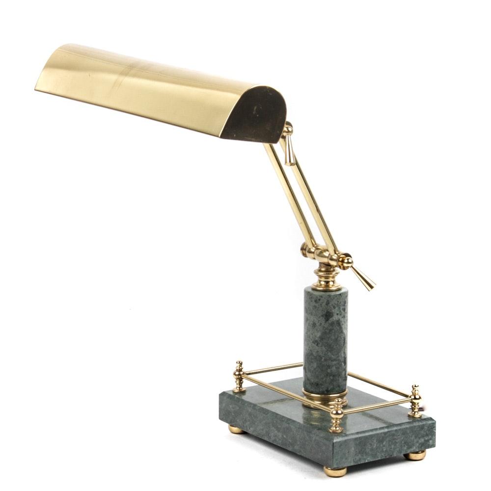 Marble Barrister's Desk Lamp