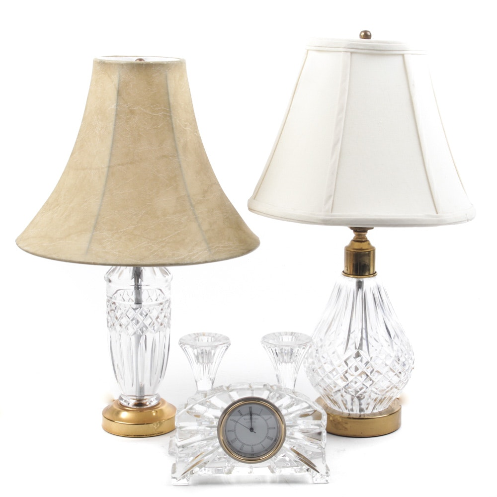 Waterford Lamps and Decor