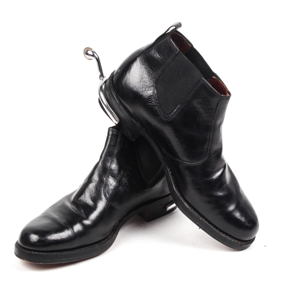 Dack's Kangaroo Leather Jodpher Boots