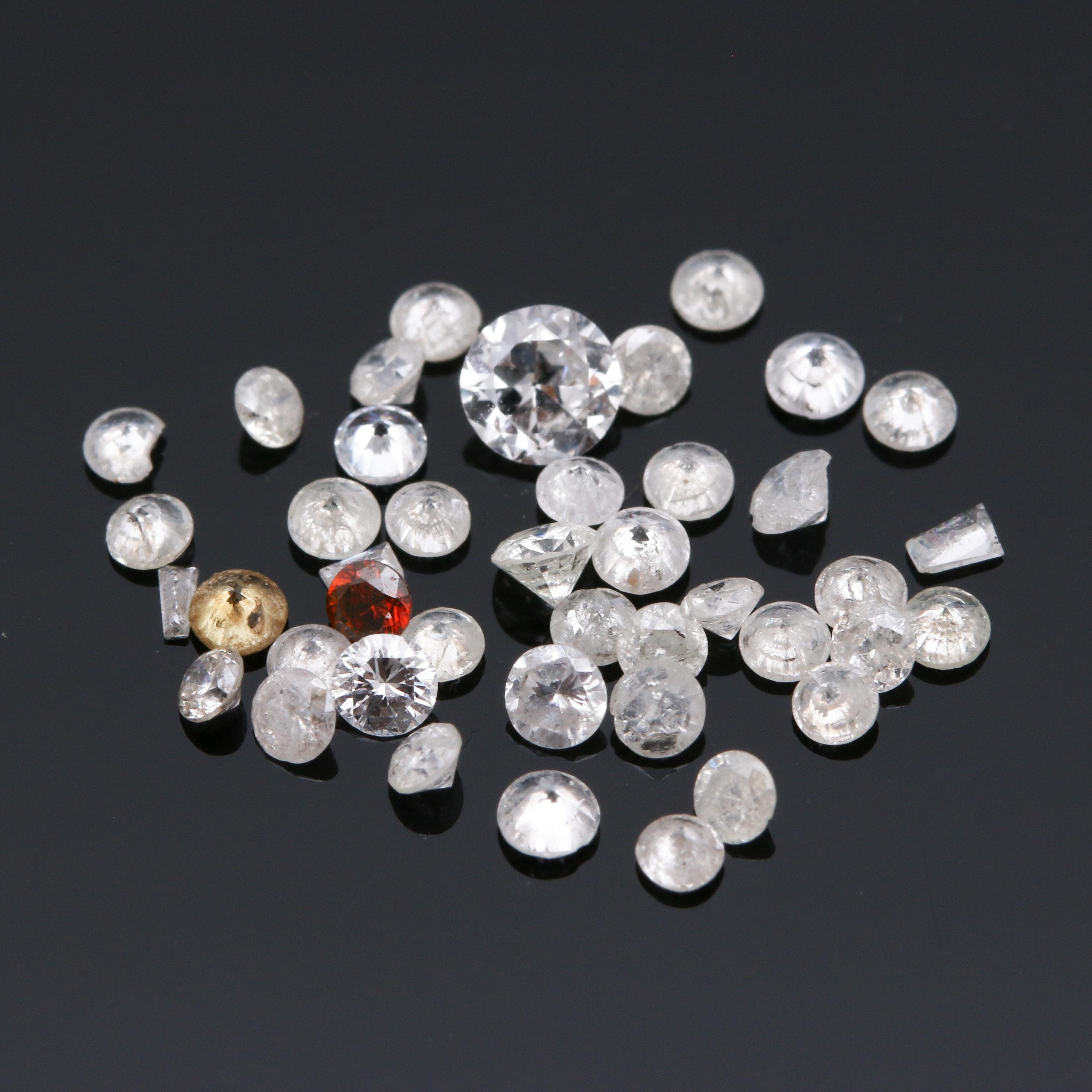 1.02 CTW Loose Diamond Assortment