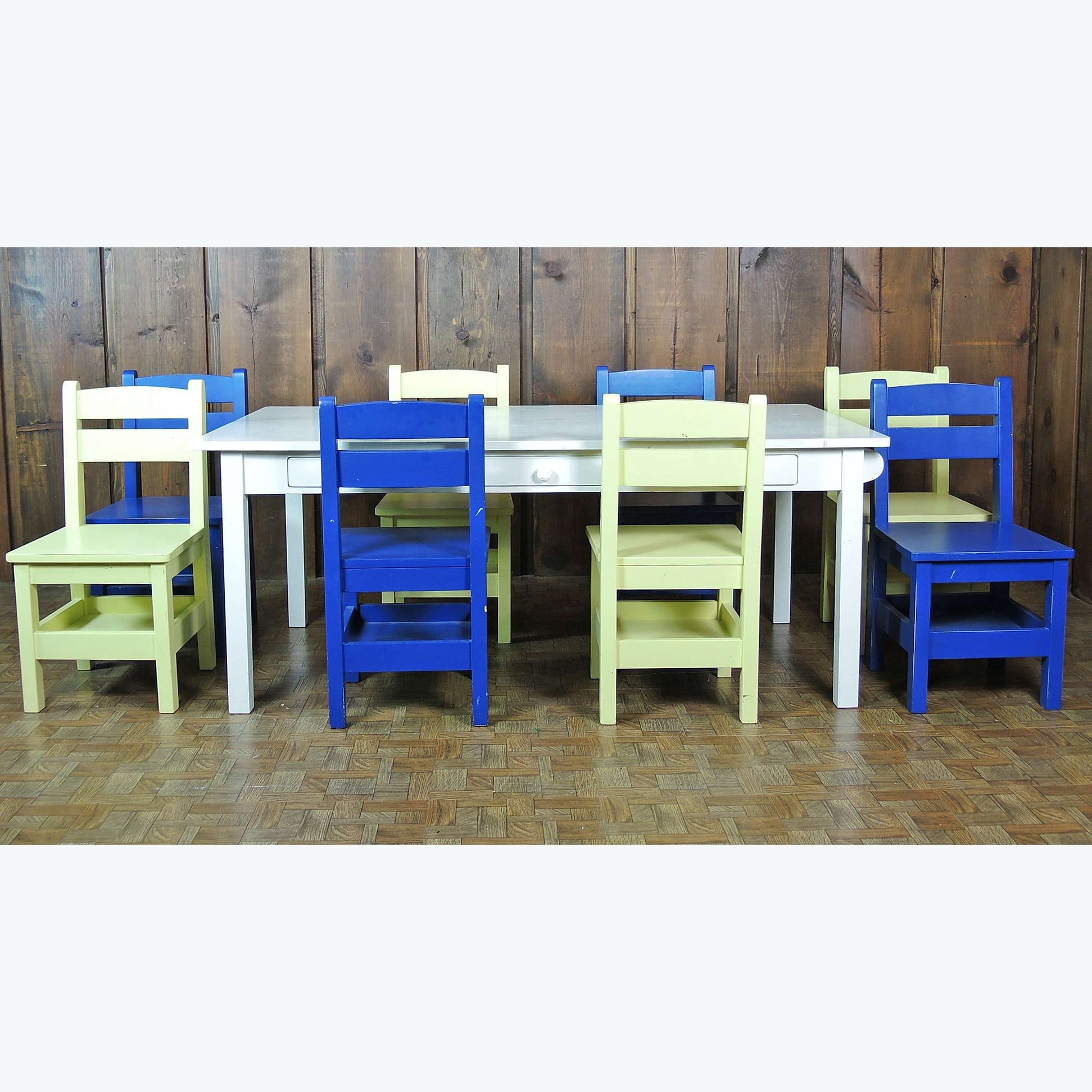 Children's Art Table and Chairs from The Land of Nod