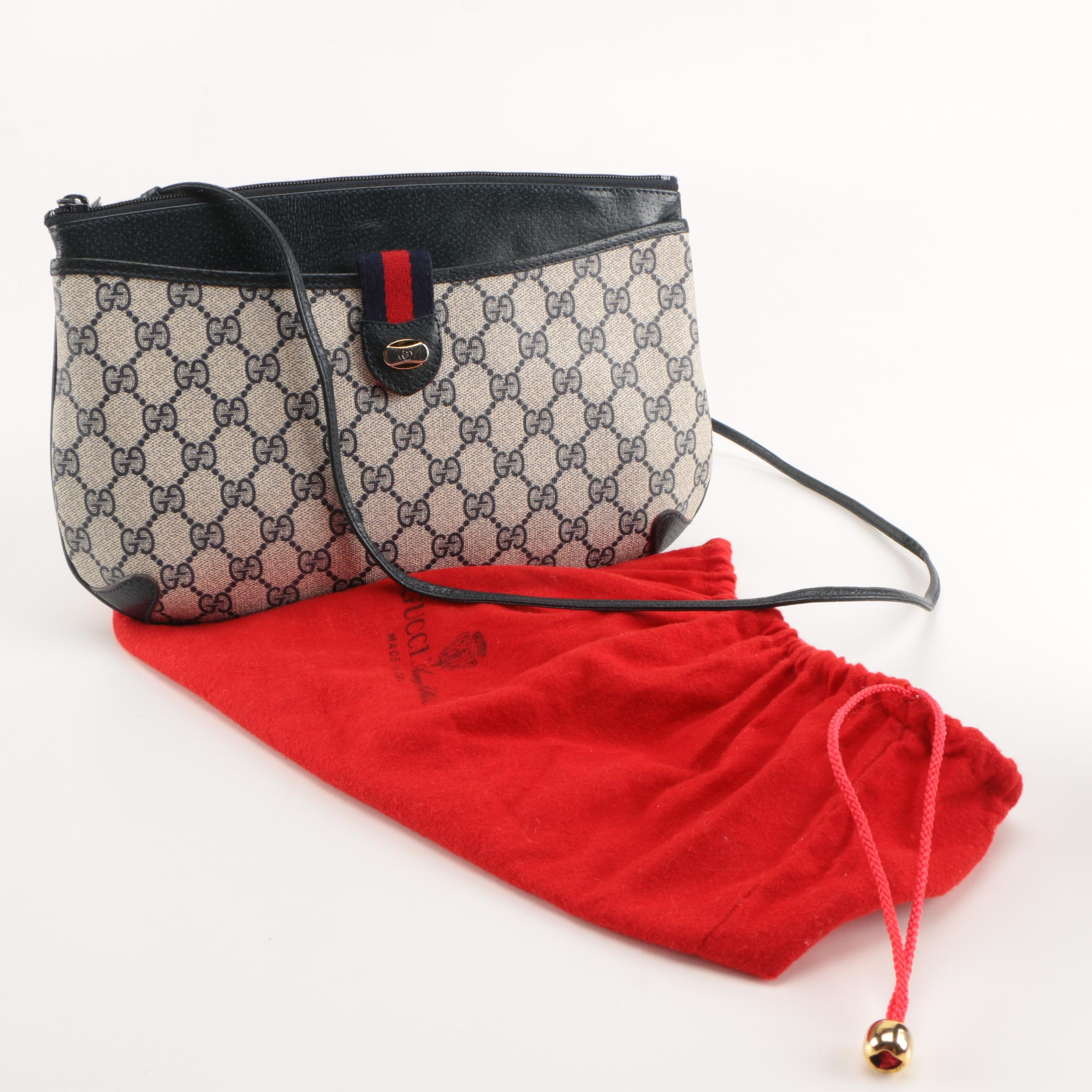 Gucci Supreme Canvas Crossbody Bag