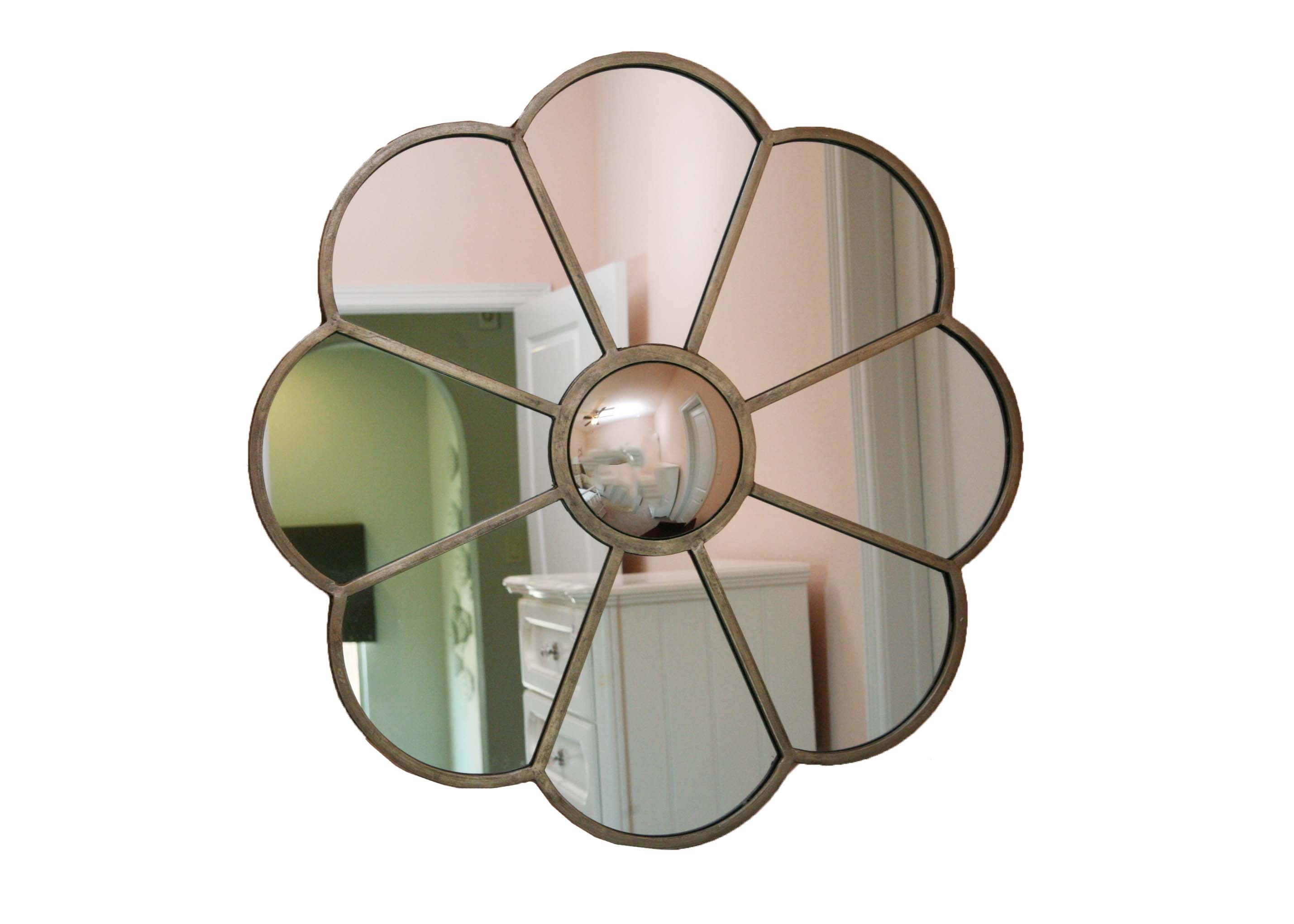 Uttermost Floral Wall Mirror