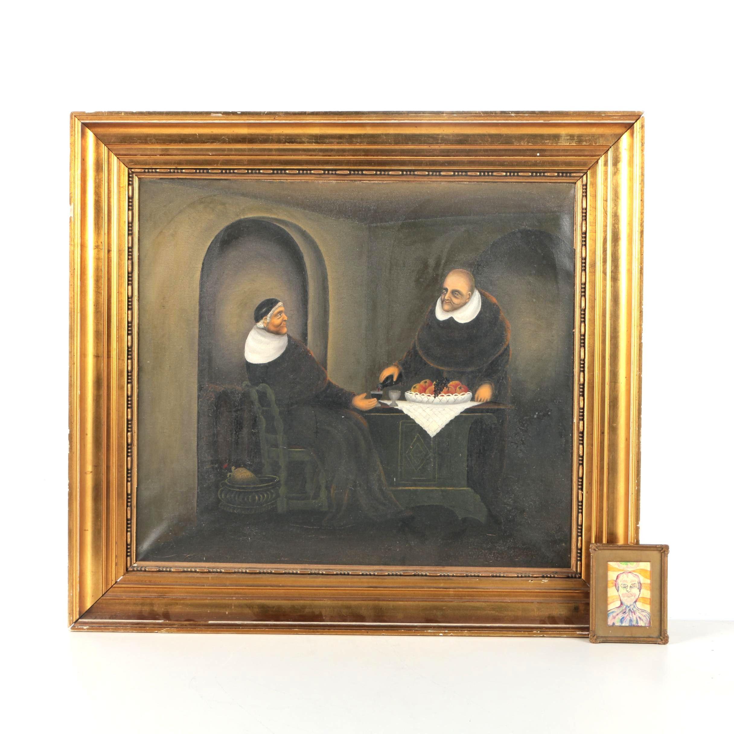 Pair of Framed Oil Paintings