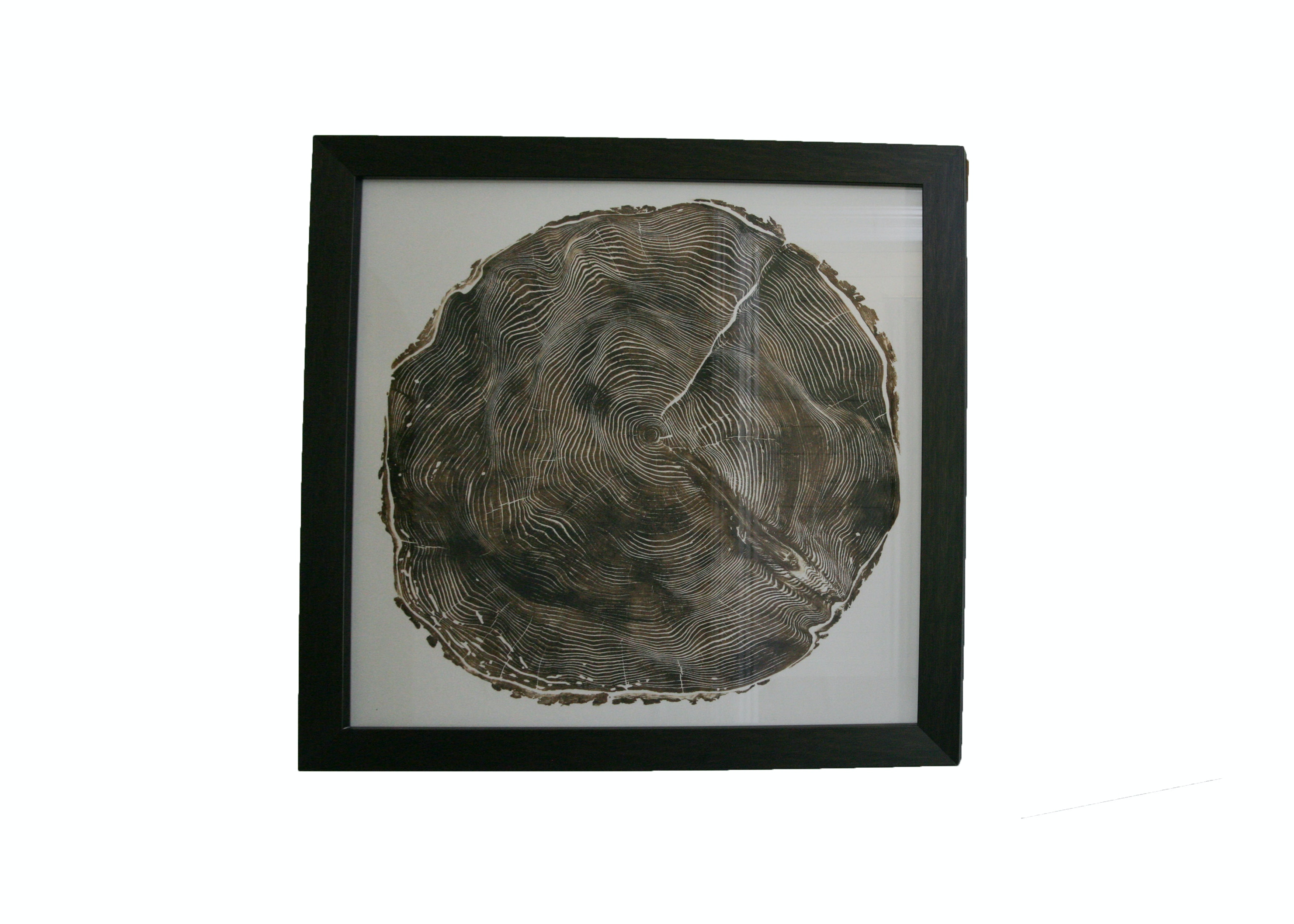 "Framed Print ""Woodcut"" After Bryan Nash Gill"