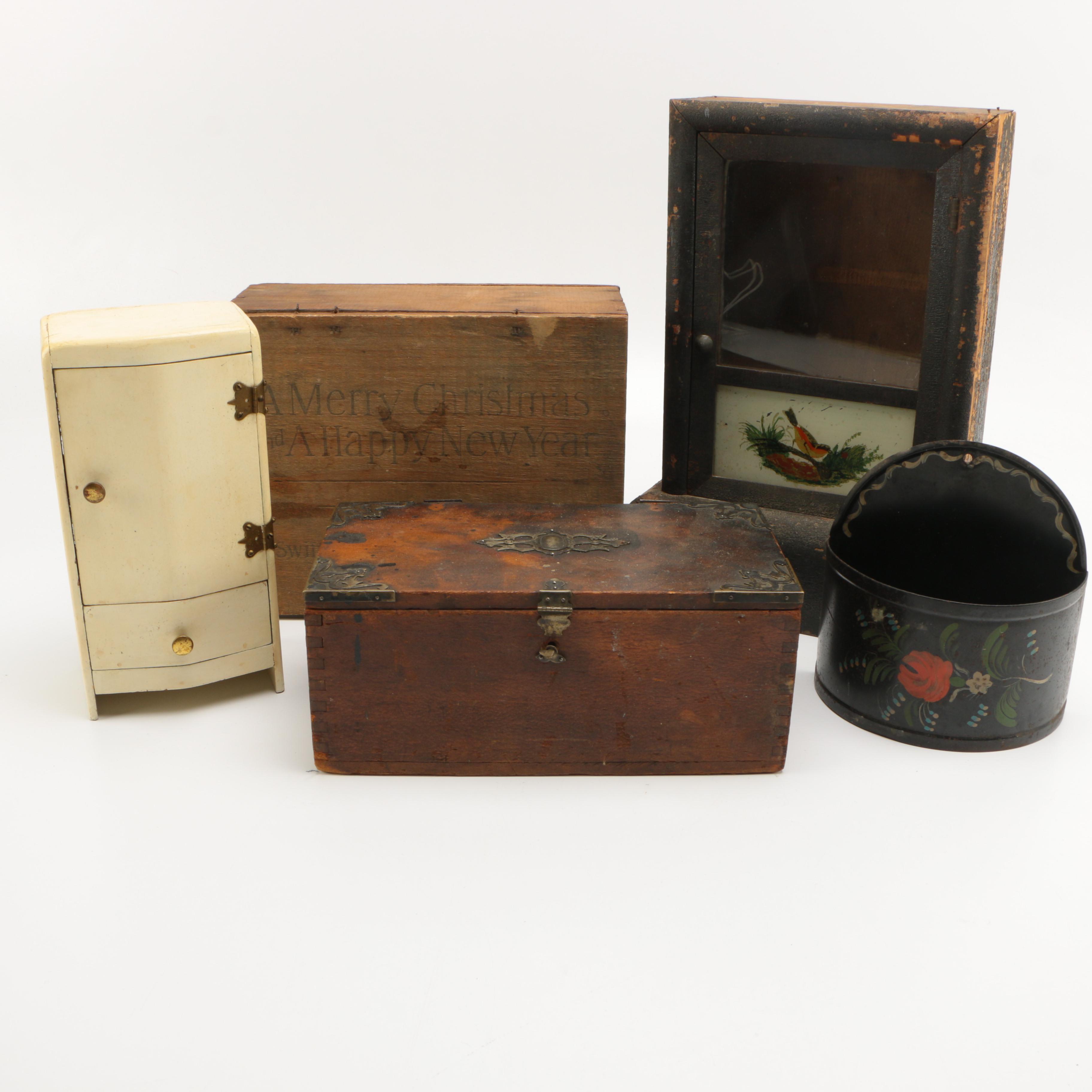 Vintage Decorative Containers