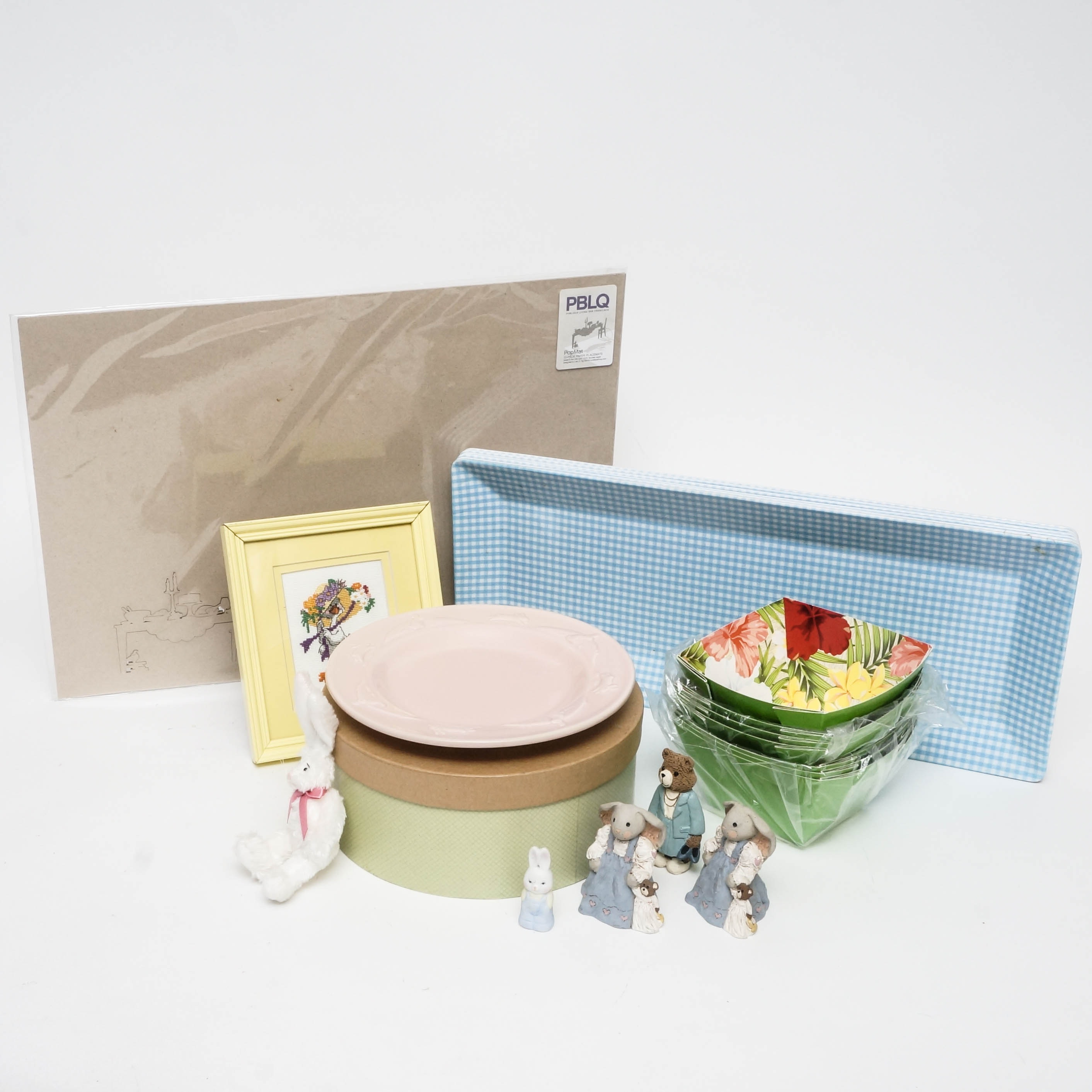 Easter and Spring-Themed Tableware and Decor