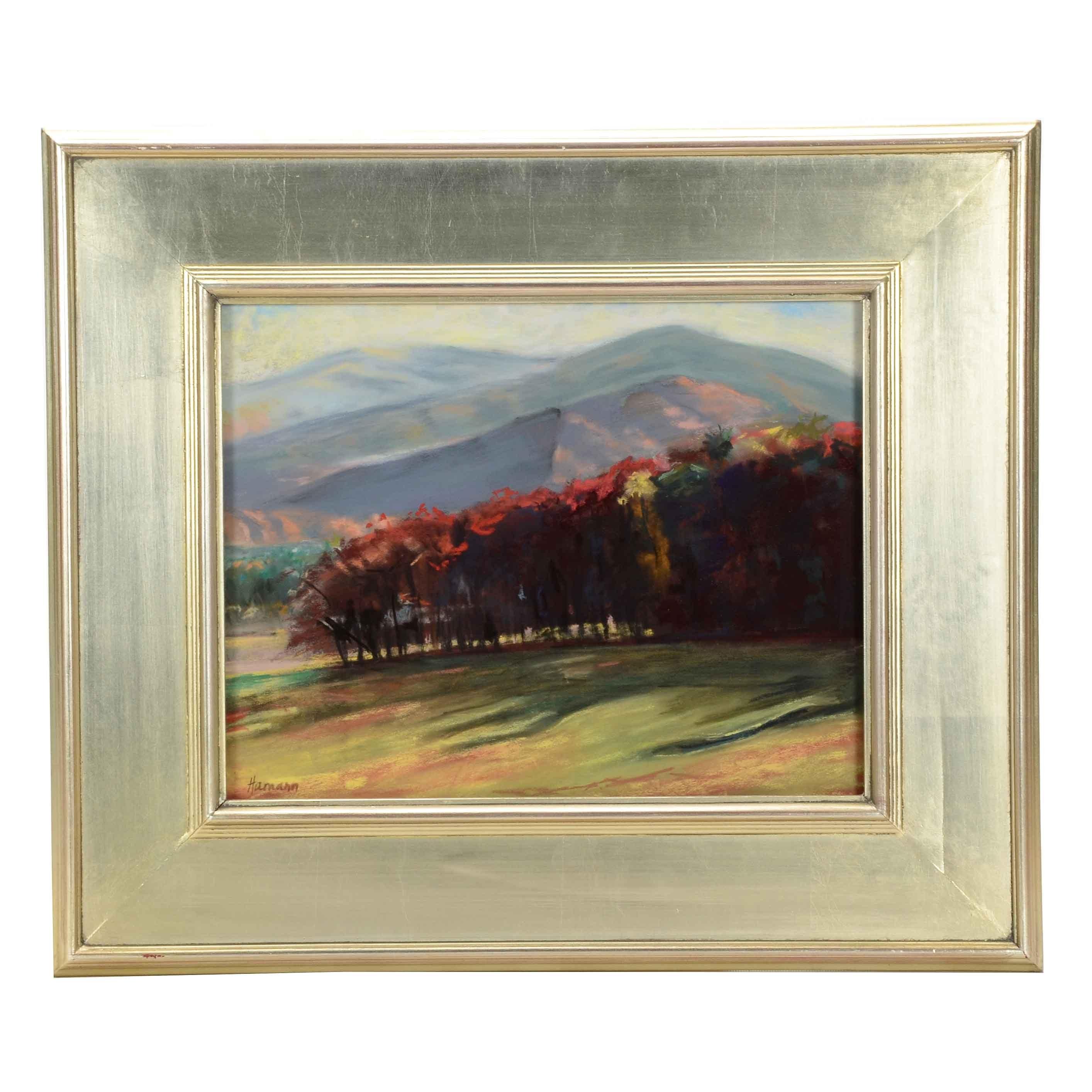 Cindy Hamann Original Pastel Landscape on Paper