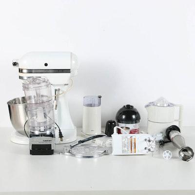 Kitchen Appliances Featuring Kitchenaid