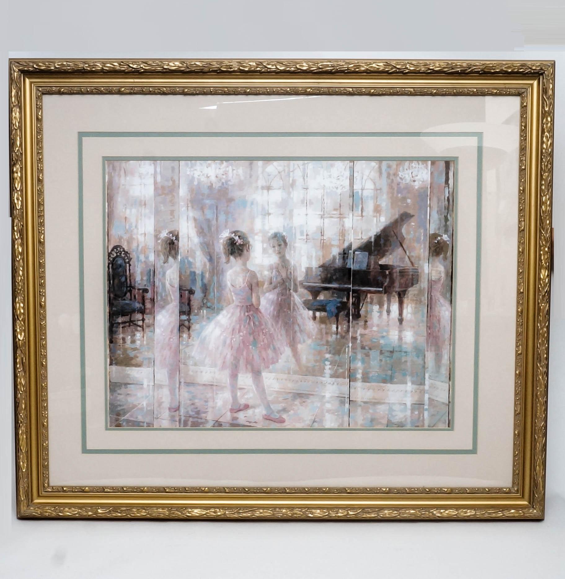 "Windsor Art After Harrison Rucker Framed Art Print ""Prelude"""