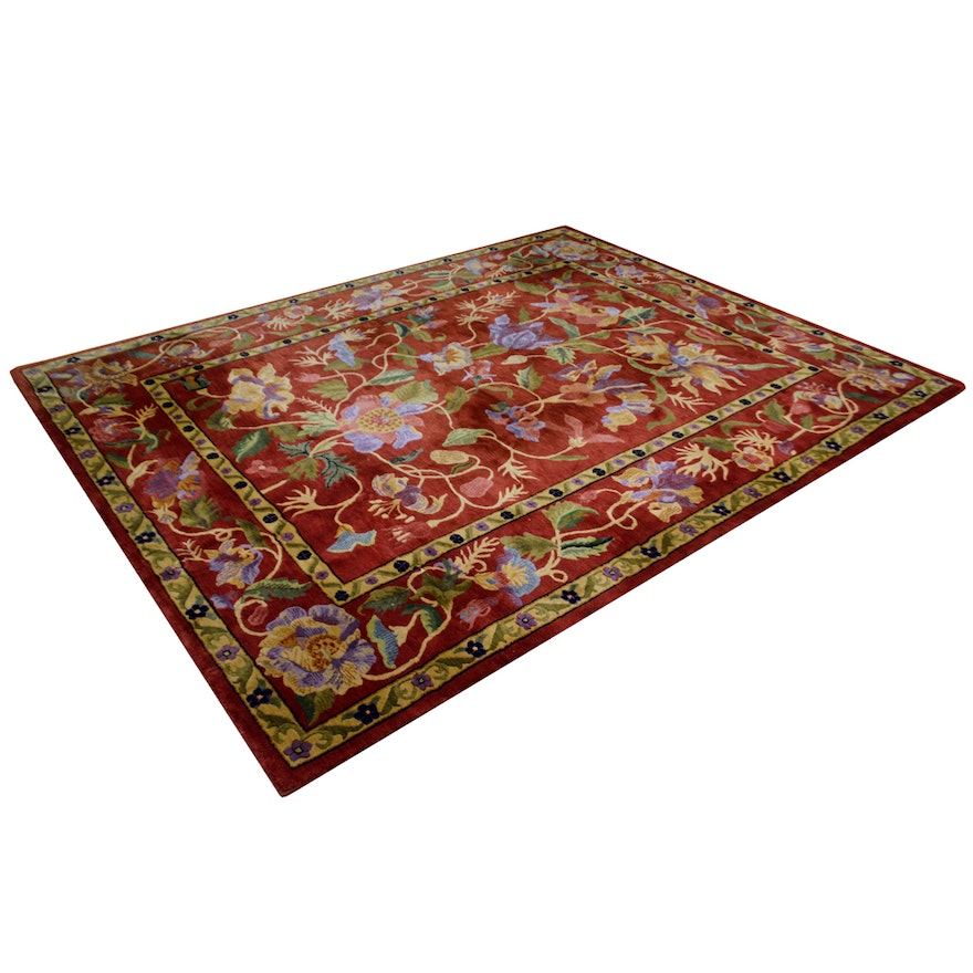 New Zealand Wool Panama Orchids Capel Area Rug