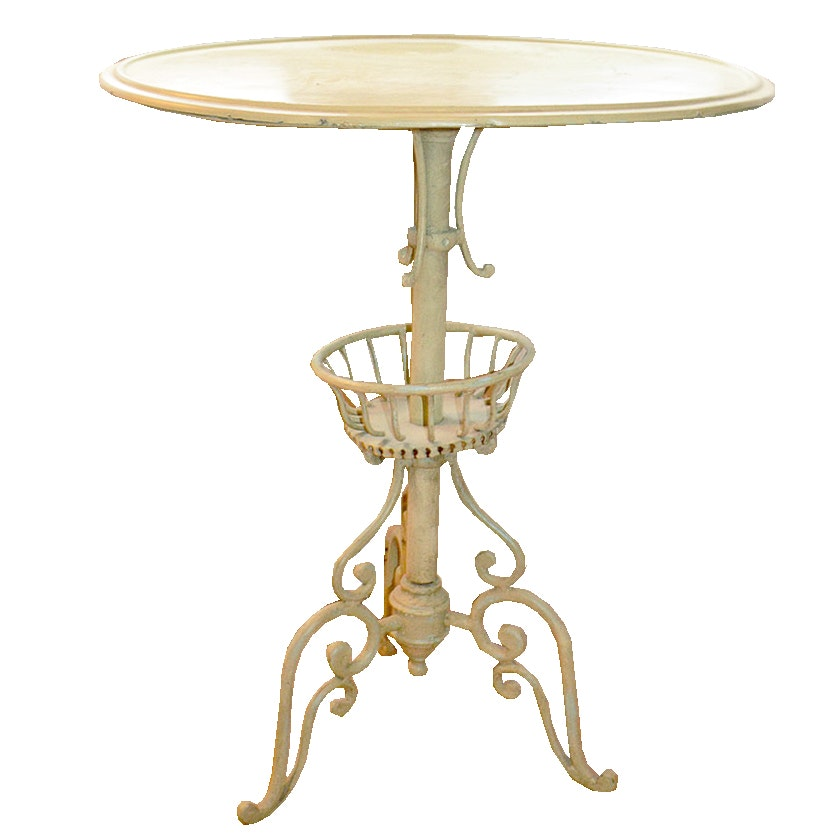 Vintage French Provincial Style Accent Table