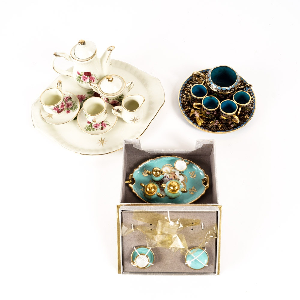 Miniature Tea Set Collection