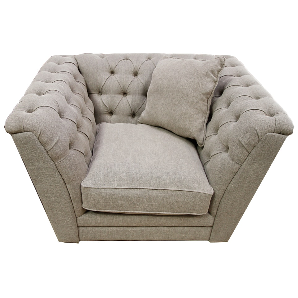 "Blink Home Gray ""Kensington"" Club Chair"