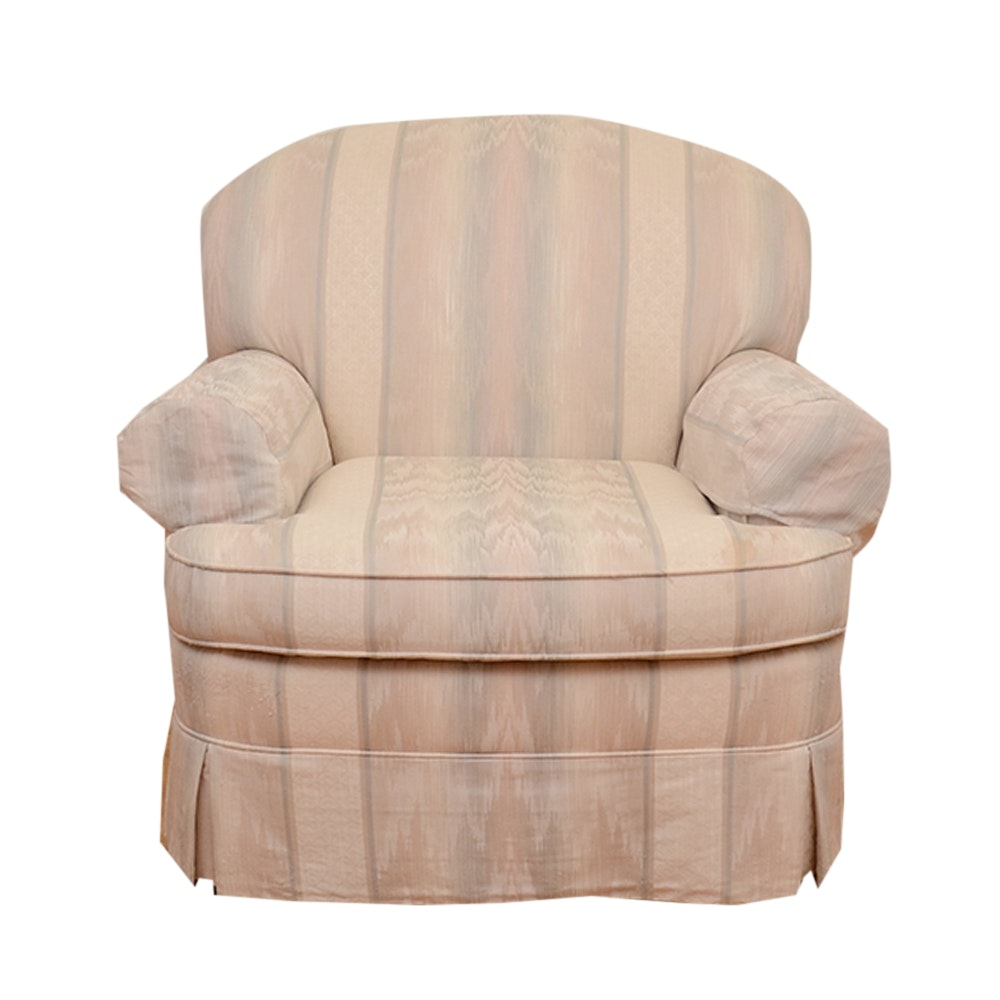 Upholstered Club Chair by Bernhardt