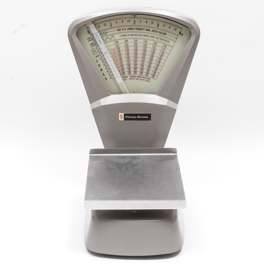 Pitney and Bowes Industrial Postage Scale