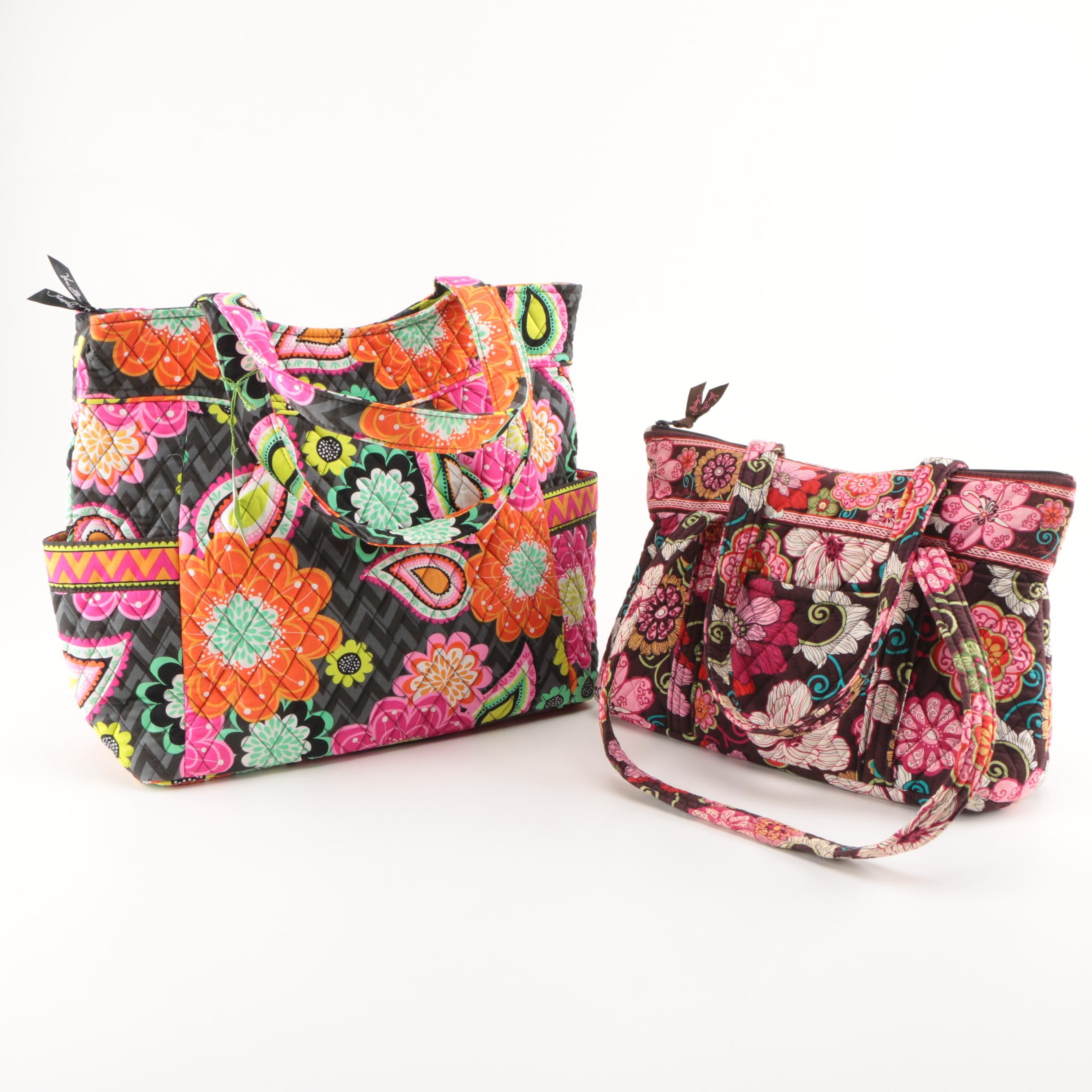 Vera Bradley Quilted Totes
