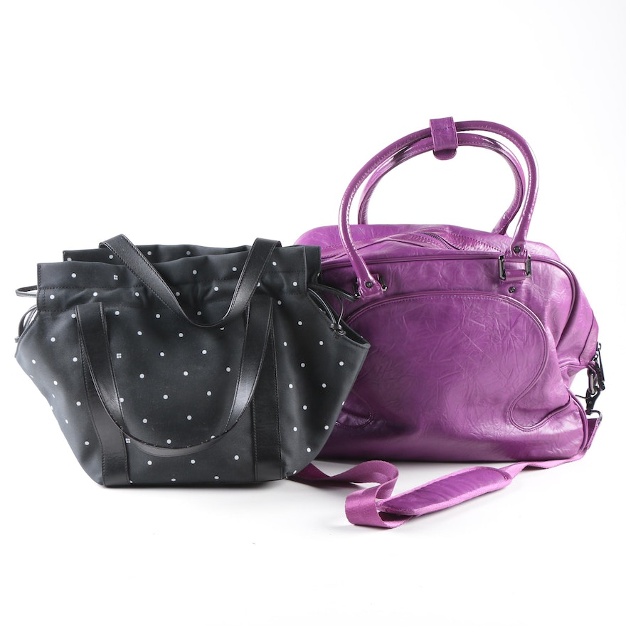 Tote And Gym Bag From Kate Spade Lululemon