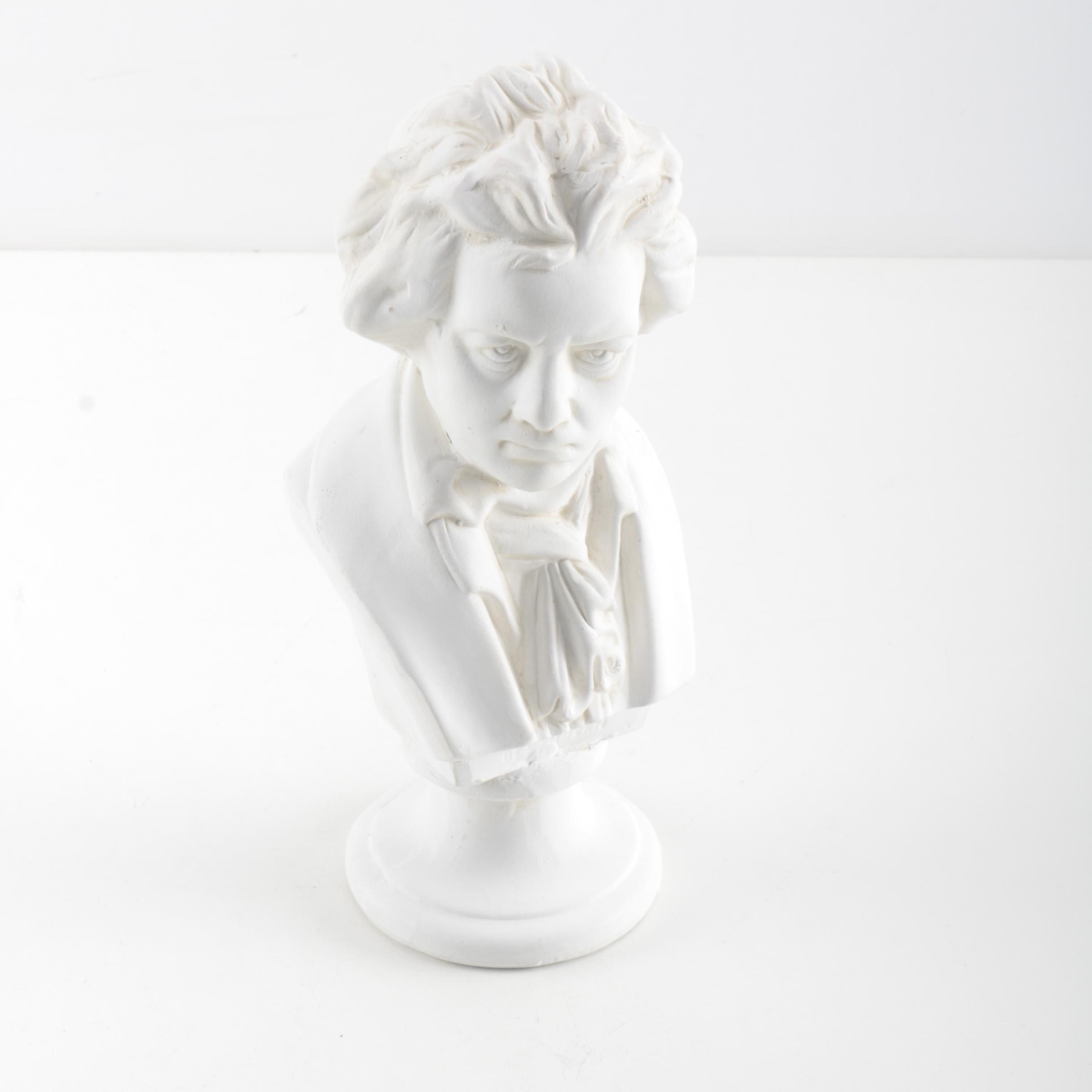 Ceramic Bust of Beethoven