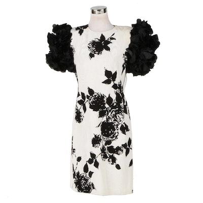 Vintage Carolina Herrera Cocktail Dress