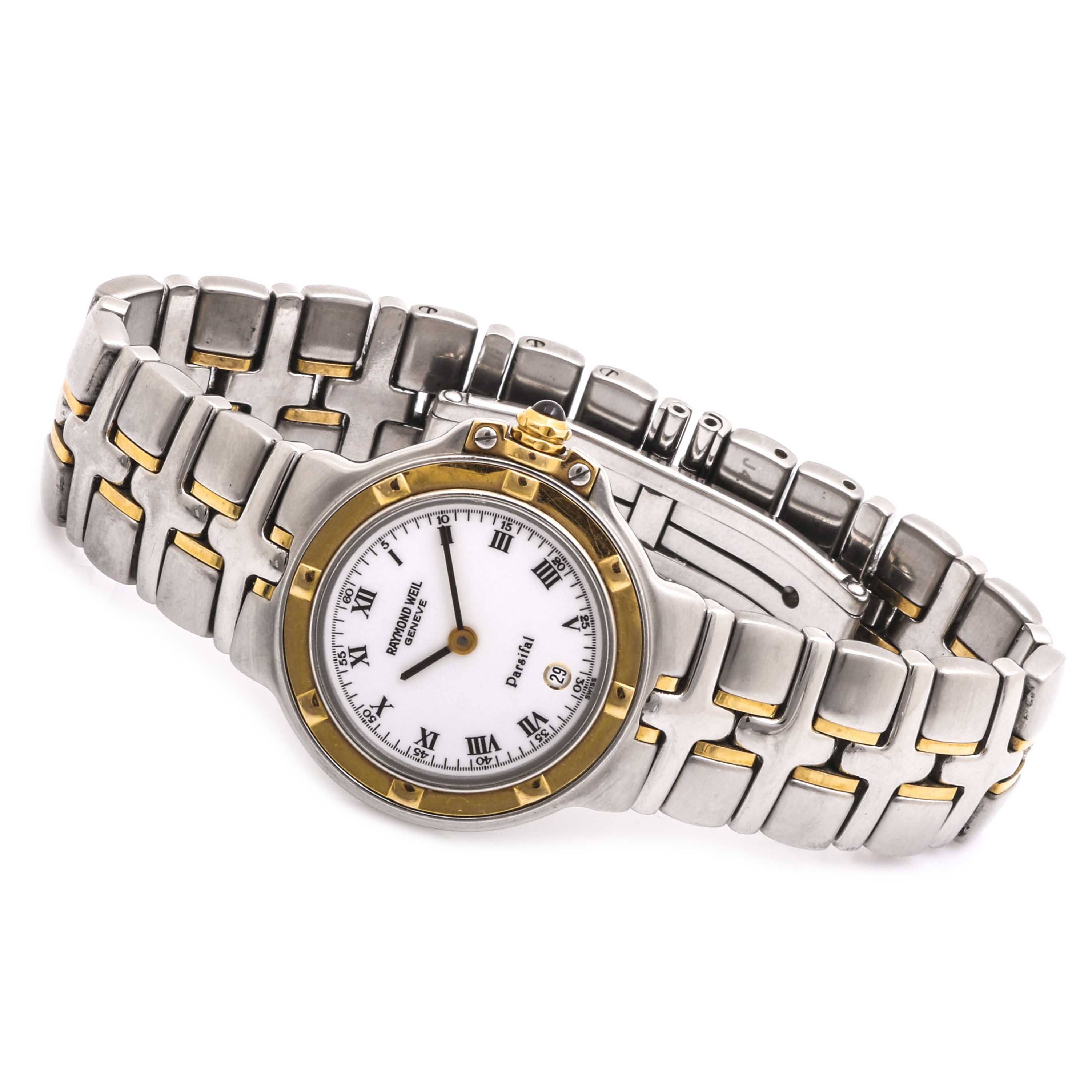Stainless Steel Raymond Weil Geneve Parsifal Wristwatch