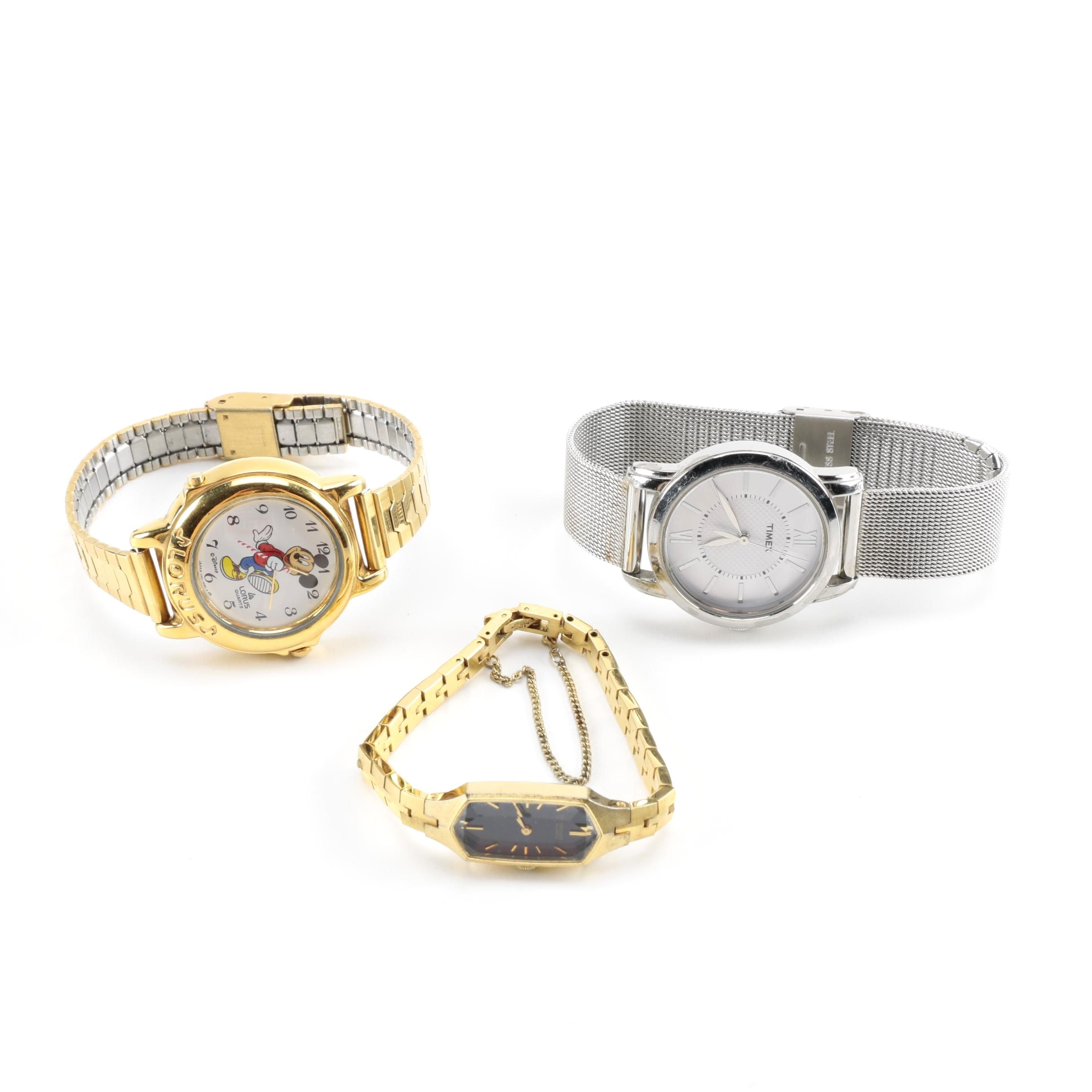 Assorted Wristwatches Including Seiko