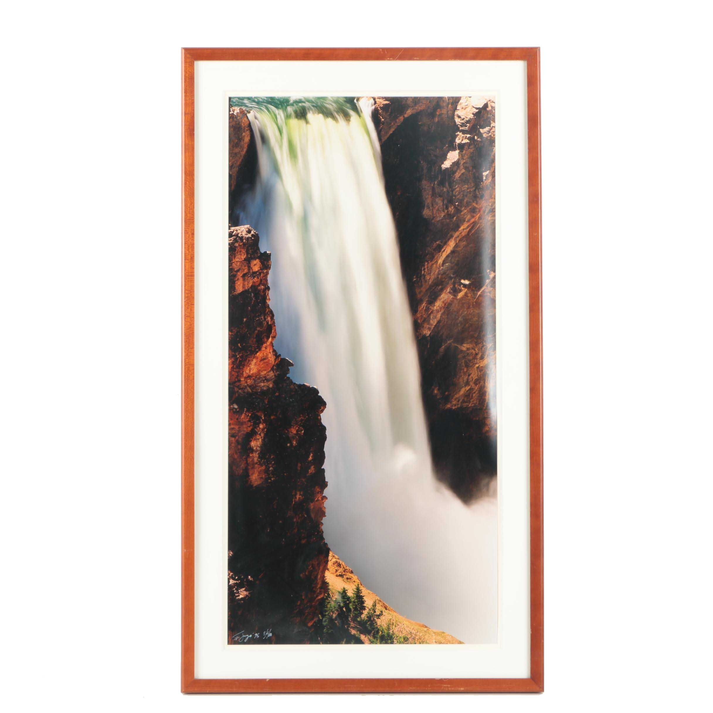 Limited Edition Photograph of Waterfall
