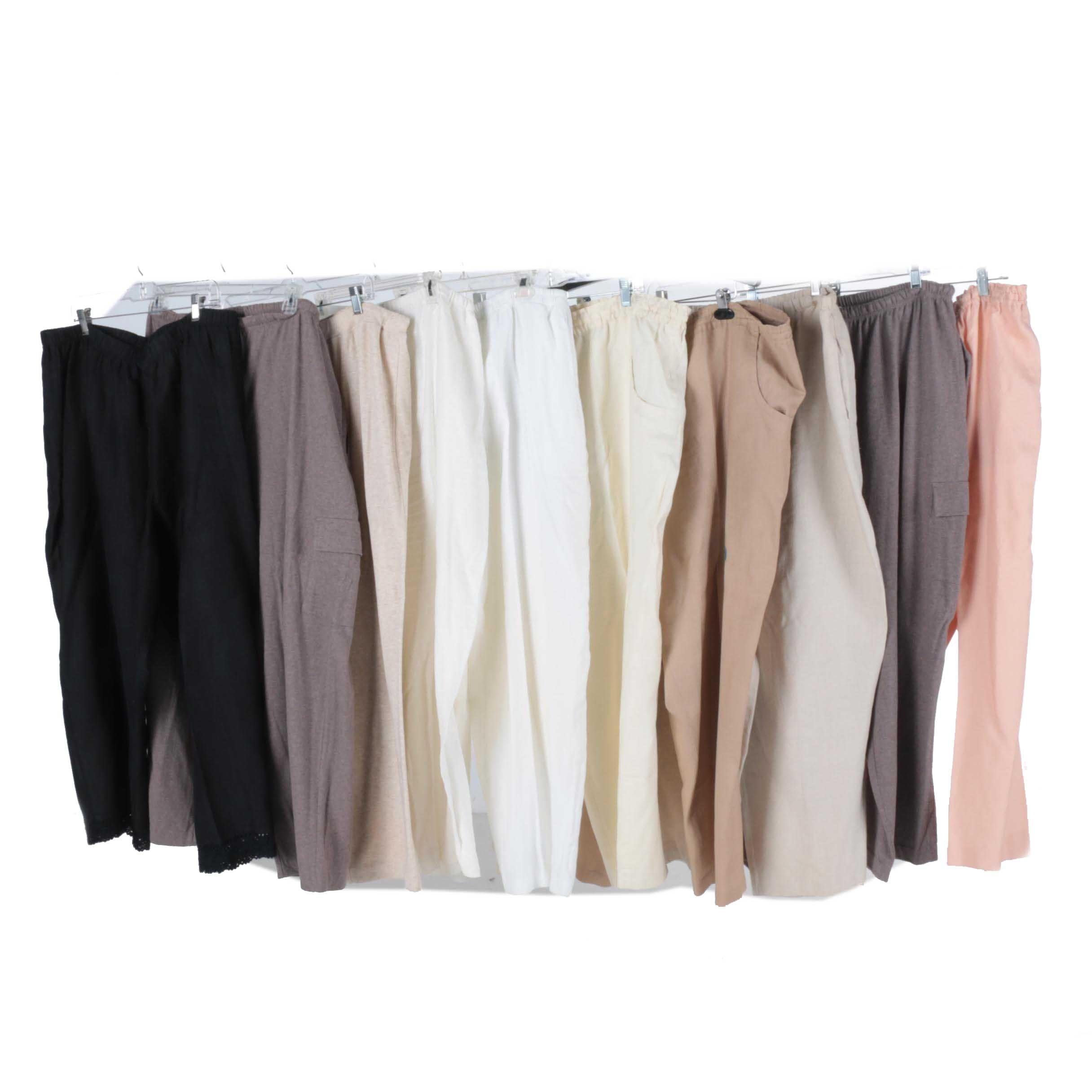 Women's Plus Size Pants Including Jones New York and J. Jill