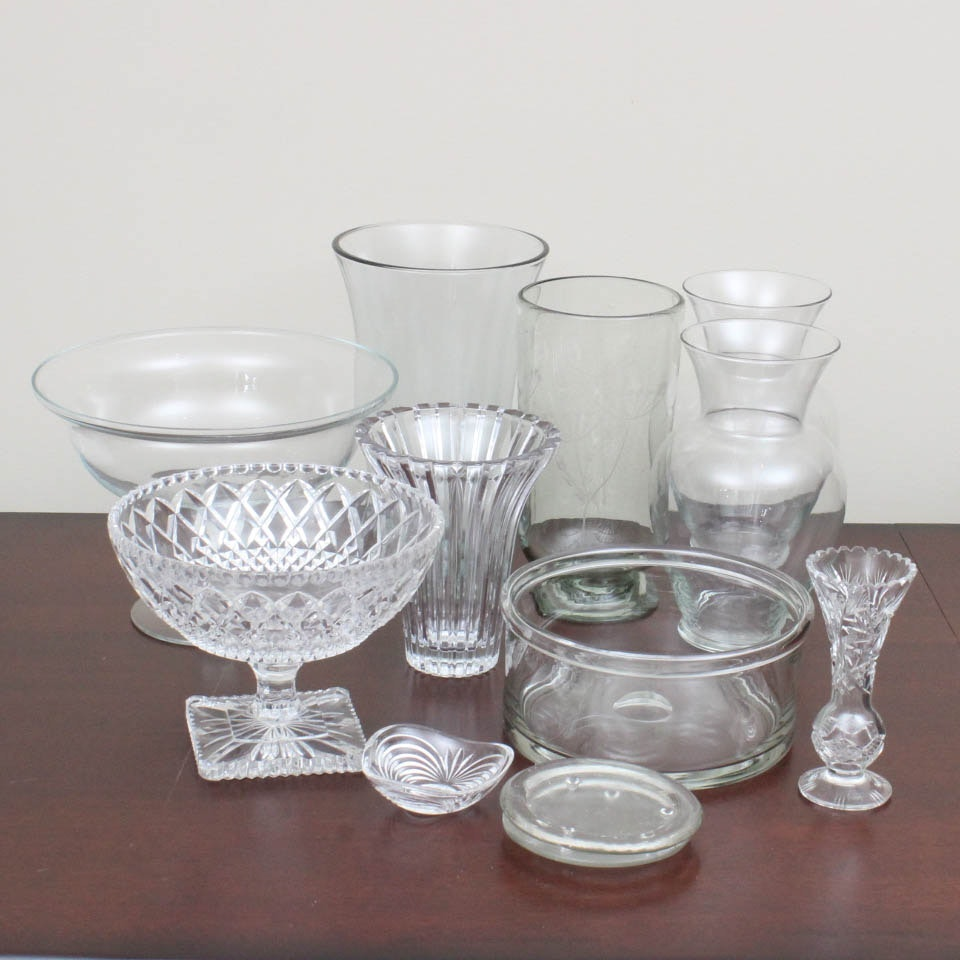 Glass and Crystal Assortment