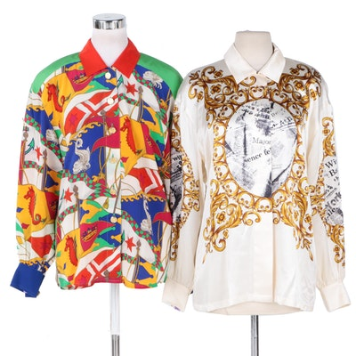 Escada Silk Tops