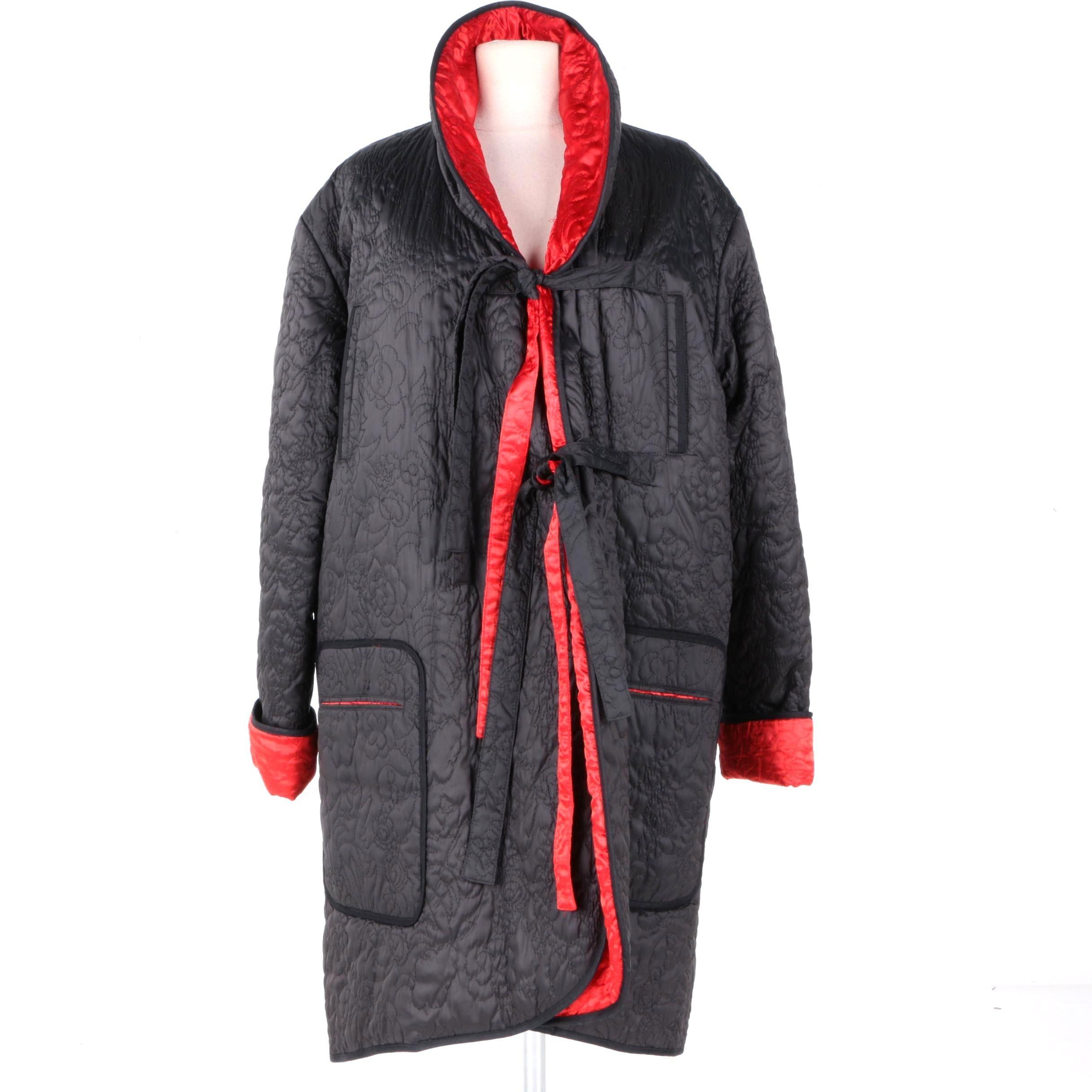 Sonia Rykiel Quilted Reversible Jacket