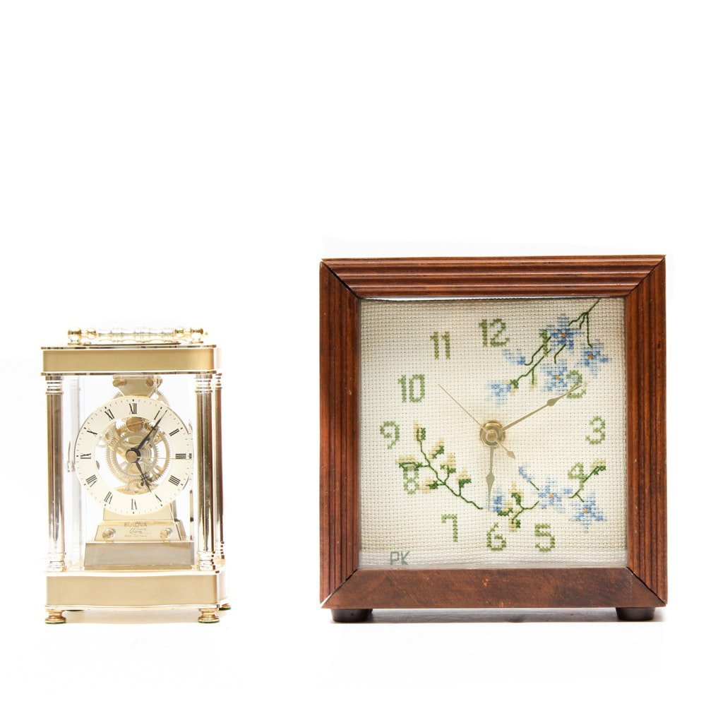 Pair of Mantel Clocks