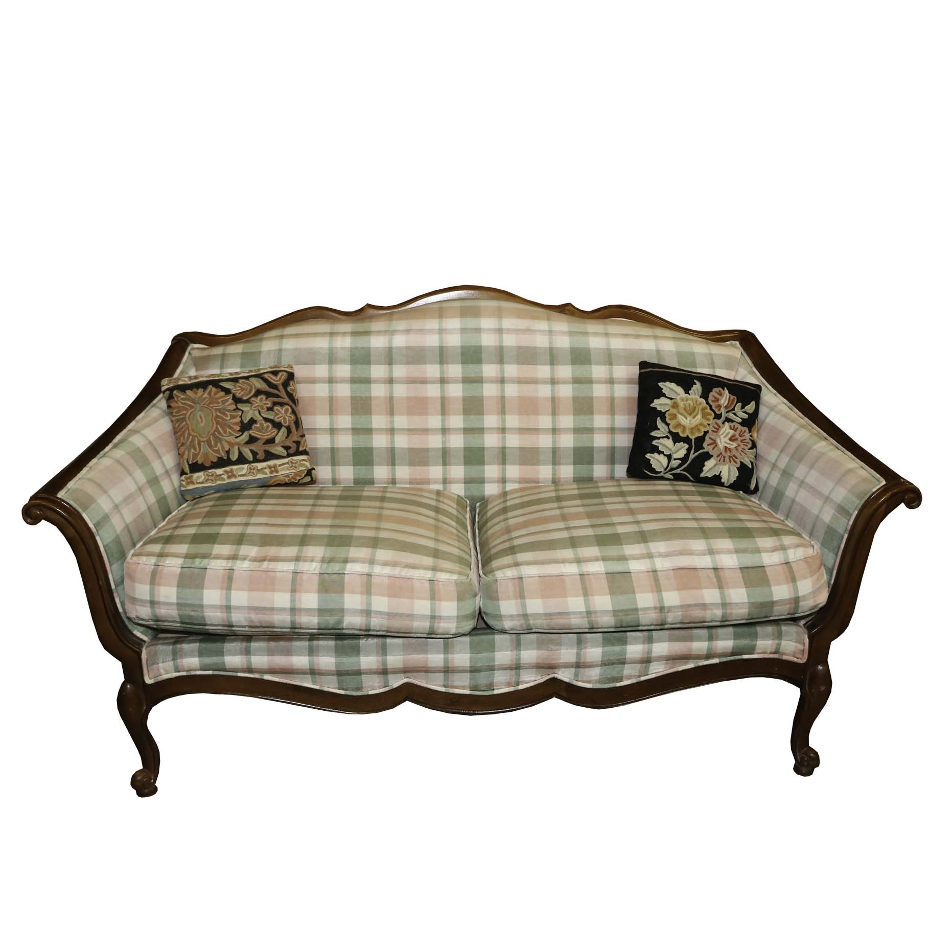 French Provincial Style Settee by Lane