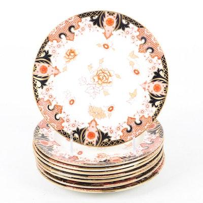 Antique Royal Crown Derby Dessert Plates