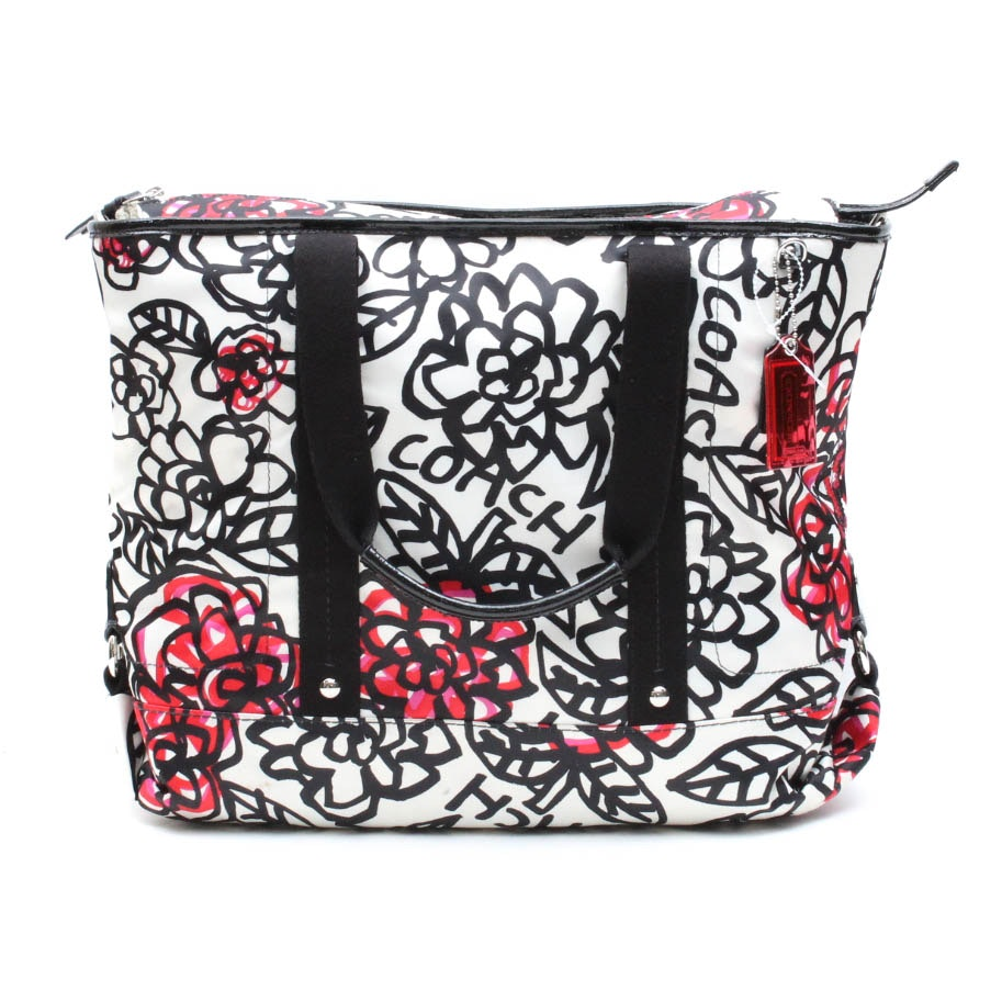 Coach Daisy Floral Tote Bag