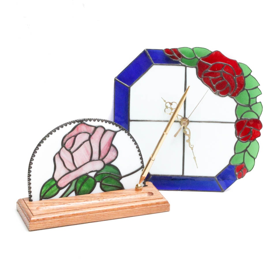 Stained Glass Decorative Accents