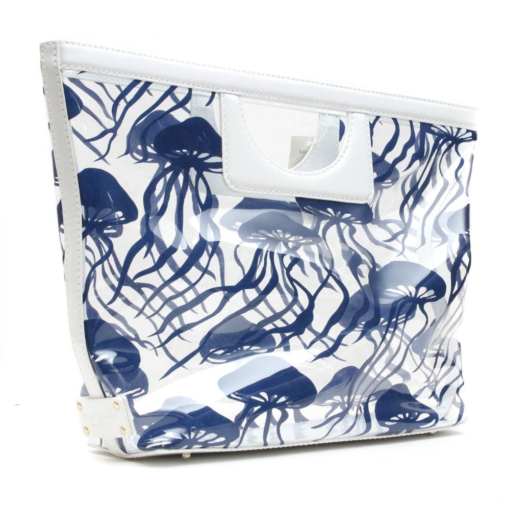 Kate Spade Kei Nagshead Clear/Blue Handbag
