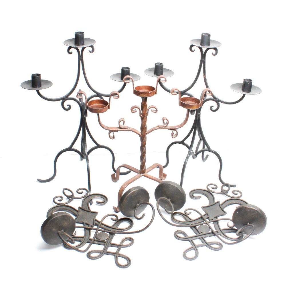 Wrought Iron Decor Collection