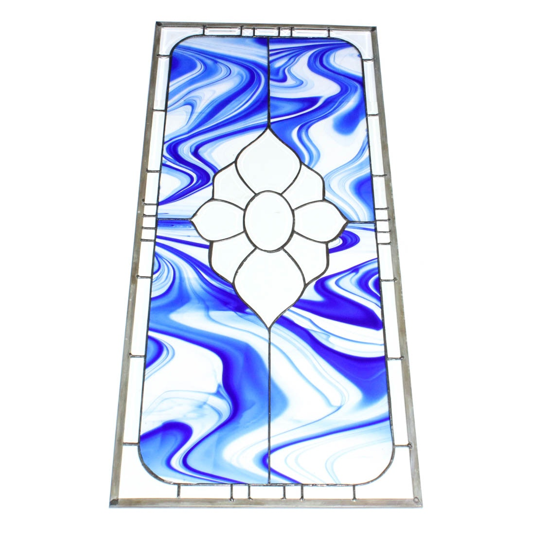 Stained Glass Transom Window Panel