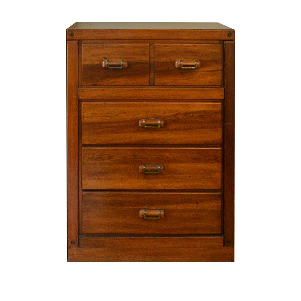 Lea Oak Chest of Drawers