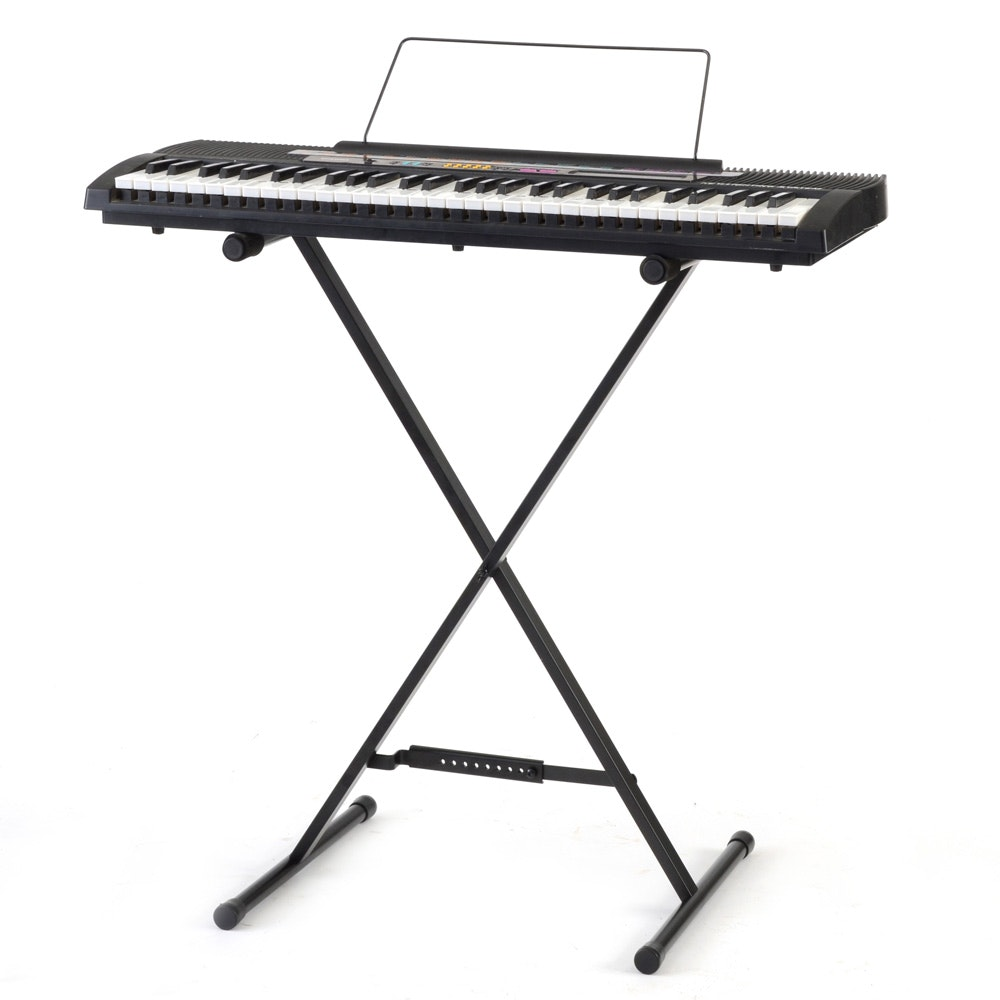 Casio Electronic Keyboard and Stand