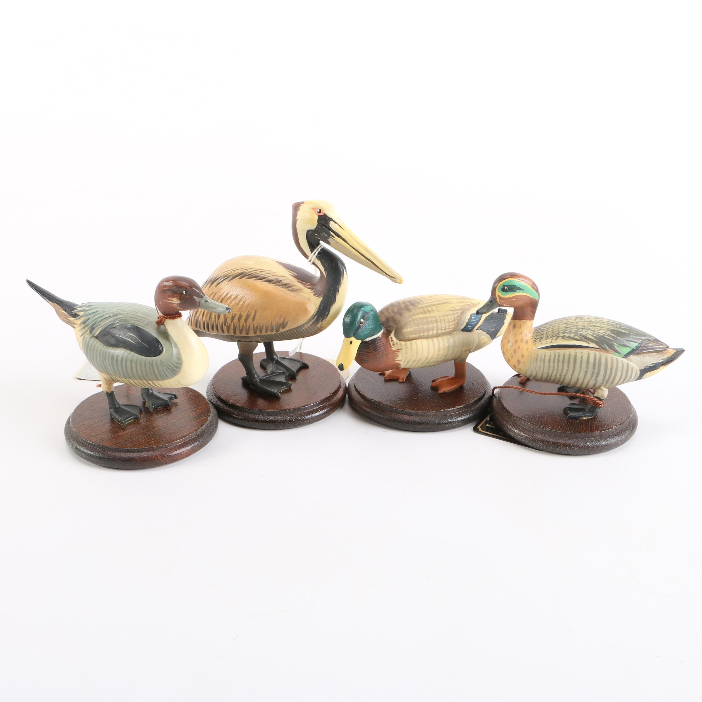 Anri Duck Figurines After Helmut Diller