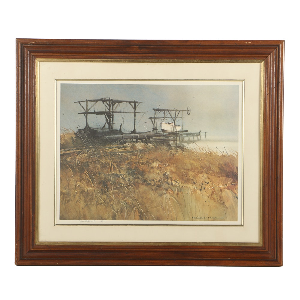 Gerhard C.F. Miller Limited Edition Offset Lithograph on Paper