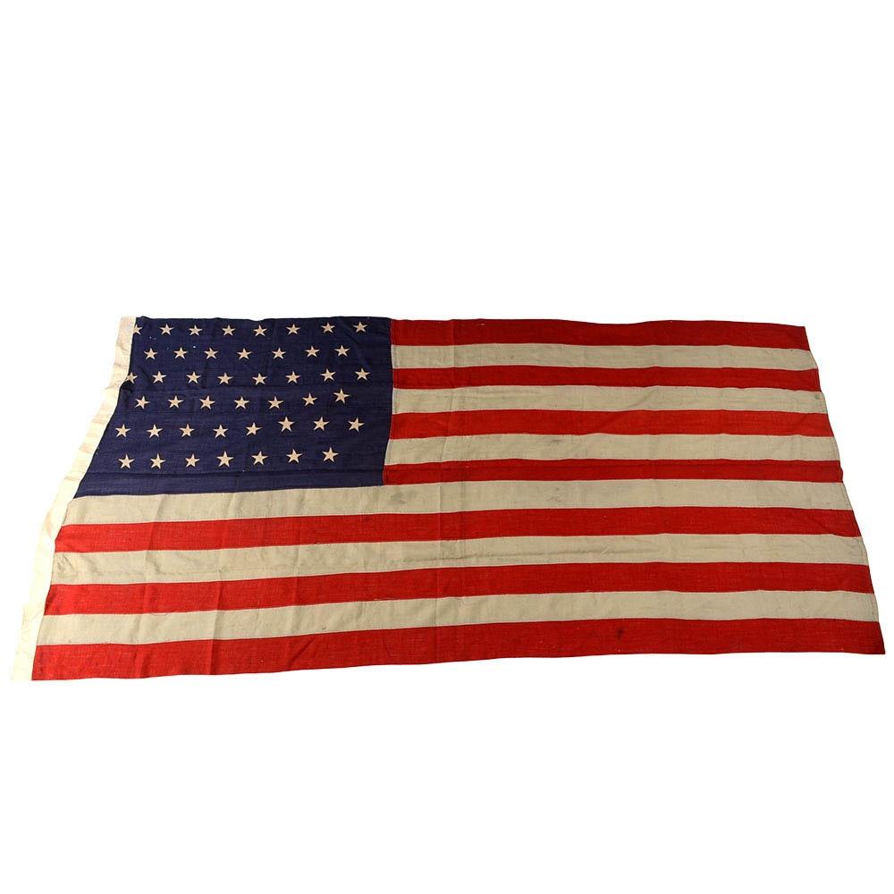 Antique 45-star American Flag