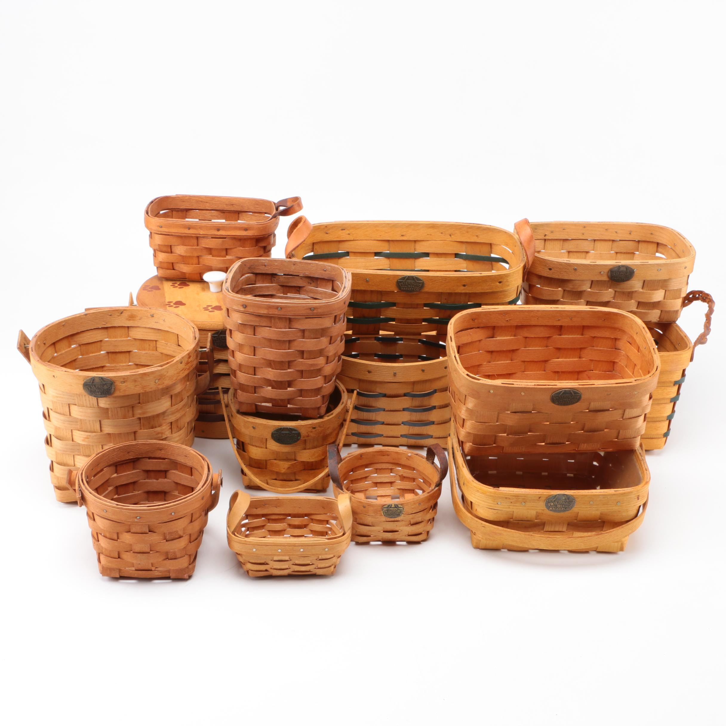 Assortment of Hand Woven Baskets