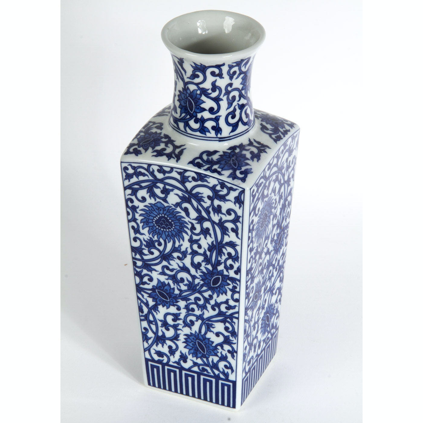 Blue and White Chinese Style Vase