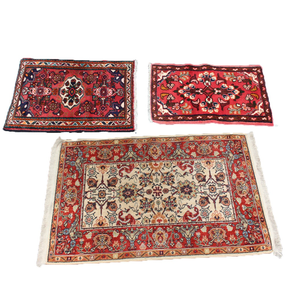Accent Rug Collection Including Hamadan and Karastan