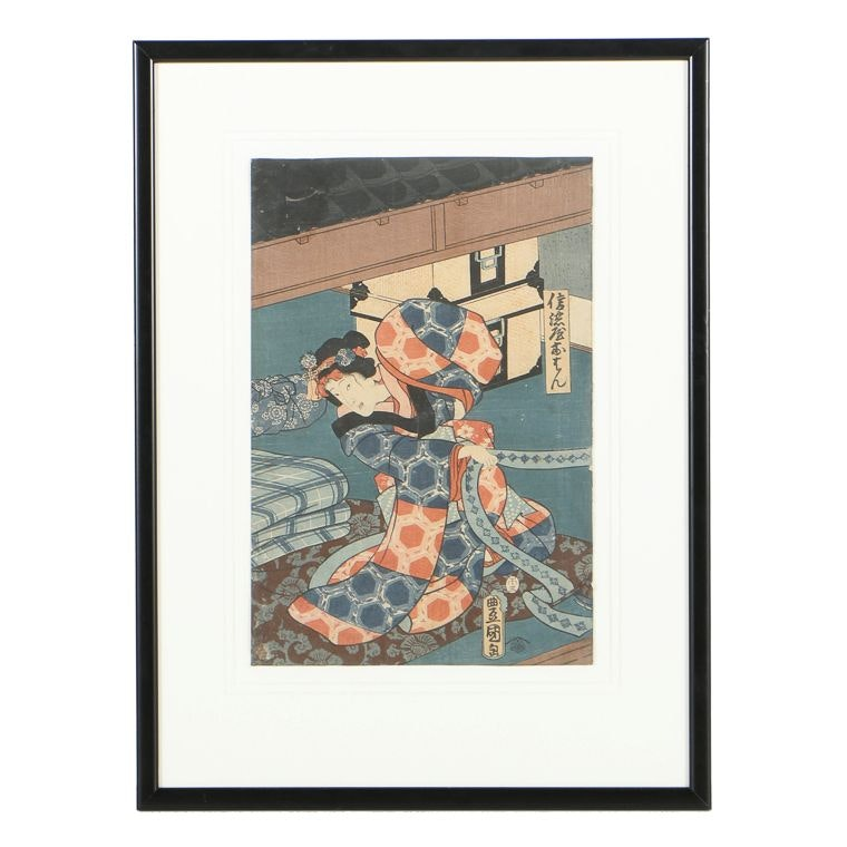 Utagawa Kunisada Woodblock on Paper